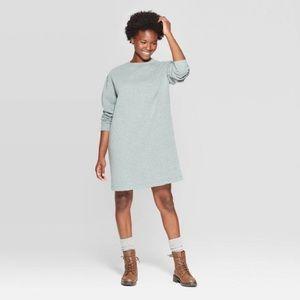 NWT Universal Thread Long Sleeve Sweatshirt Dress